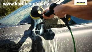 Моечная щетка Karcher WB 100 Wash Brush - мойка машины минимойкой керхер(Вращающаяся щетка WB 100 Wash Brush http://karcher.com.by/prinadlezhnosti-k-minimoykam/vrashchayushchayasya-shchetka-wb-100-wash-brush ..., 2015-06-08T15:00:20.000Z)