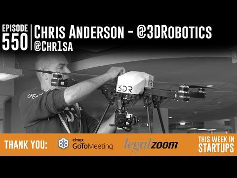 3D Robotics Founder Chris Anderson on his hottest drones & building America's biggest drone maker