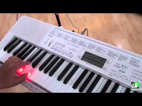 Hướng dẫn cách chọn tiếng, điệu cho đàn organ Casio LK-247