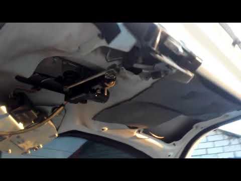 Как открыть багажник без ключа на Лада Калина и ремонт замка багажника! - Лучшие видео поздравления [в HD качестве]