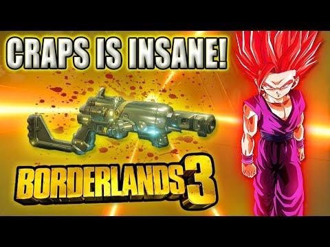 The Craps is INSANE! Best Boss Melting Pistol? Borderlands 3 Craps vs Mayhem 4 Graveward| Craps BL3