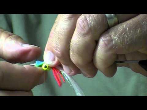 Tying a Bleeding Gill Clouser Minnow Fly