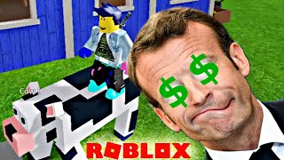 Roblox - Farmer sells his children and gets ripped off by the capitalist system - Farmtown