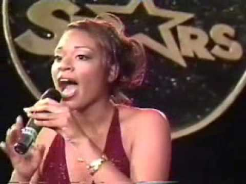 """Kimberly Edwards performing """"A Womans Worth"""" 2005"""