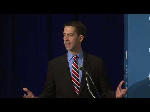 Opening Remarks by Senator Tom Cotton at the 2017 National Lawyers Convention
