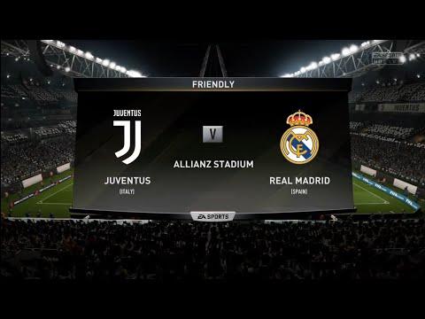 FIFA 18 | Friendly | Juventus v Real Madrid | Allianz Stadium