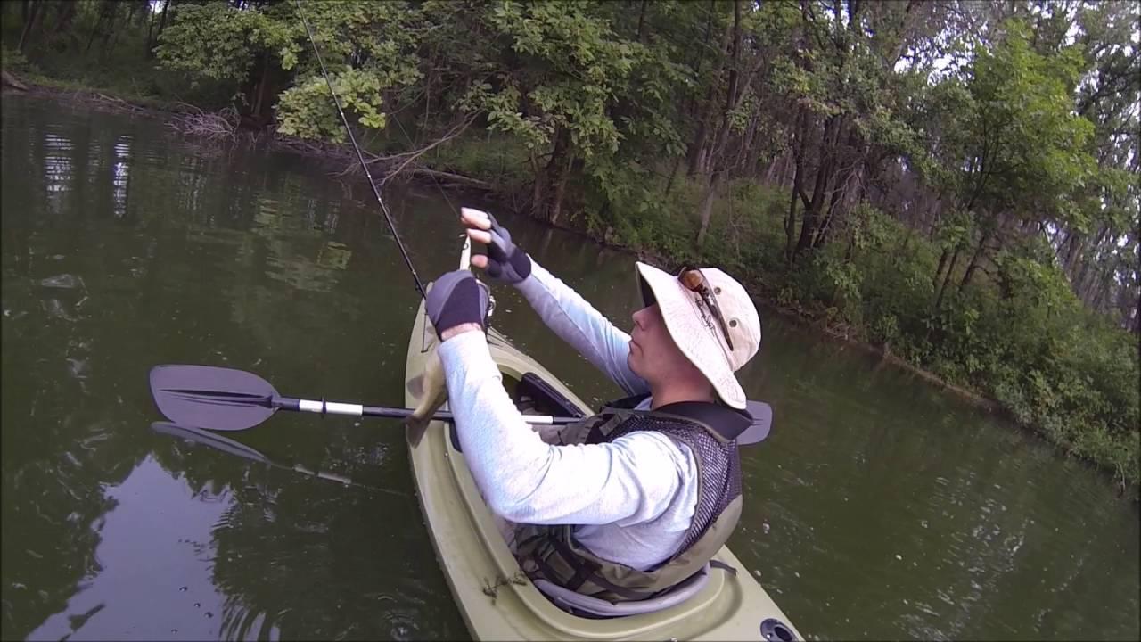 Henry Sever Lake - Kayak Fishing