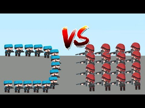 Clone Armies - Gameplay Walkthrough Part 29 - Cyborg Fight Arena (iOS, Android)