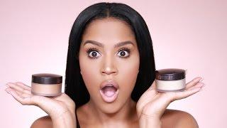 NEW Laura Mercier Medium Deep Powder Review | MakeupShayla