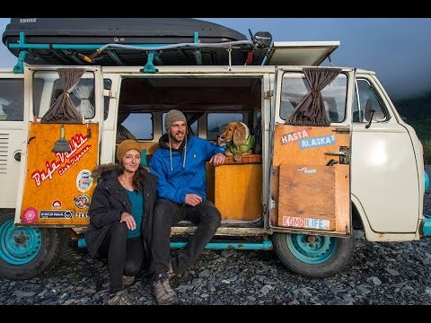 Full Time Bus Life Interview ~ Intercontinental Digital Nomads ~ Kombi Life