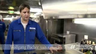 MS Europa: Blick in die Kreuzfahrt-Küche