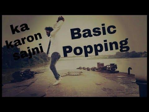 Bollywood song ka karon sajni ||Basic popping and vibrate||Dancing shop||by bikram