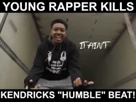 "Young rapper kills kendrick ""Humble"" beat!🔥🔥"