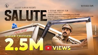 Salute  Movie Teaser | Dulquer Salmaan | Rosshan Andrrews | Bobby & Sanjay | Santhosh Narayanan