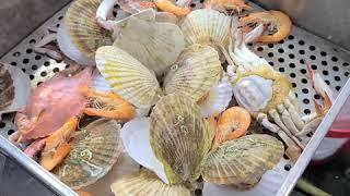 구리농수산물 도매시장 해산물 사러가기