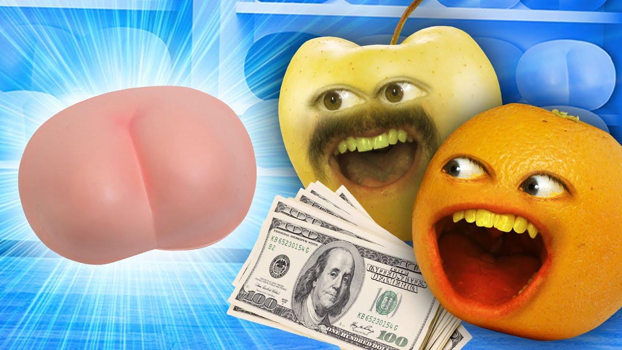 Annoying Orange - New Butt Shopping
