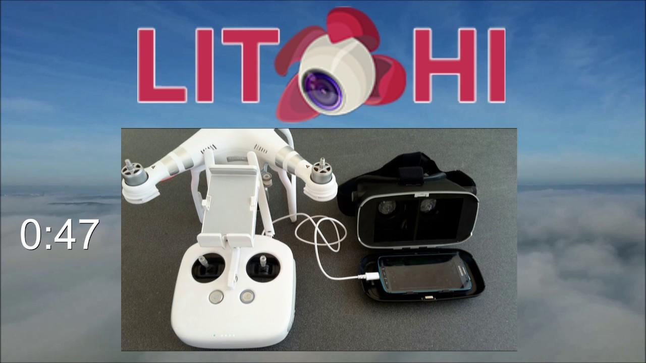 Litchi App Fur Dji Kopter 2 Virtual Reality Vr Brille Deutsch Uberarbeitet Youtube