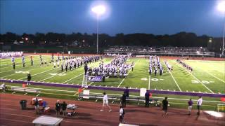 downers grove north trojan marching band 8 29 2014