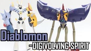 Diablomon(ディアボロモン)-DIGIVOVLING SPIRITS 03-Evolve from Keramon(ケラモン)-Bandai Digimon Figure Toy