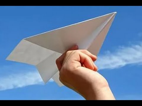 100 Metres Flying Paper Plane