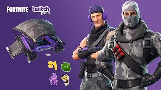 HOW TO GET THE EXCLUSIVE PACK TWITCH PRIME FORTNITE PACK FOR FREE