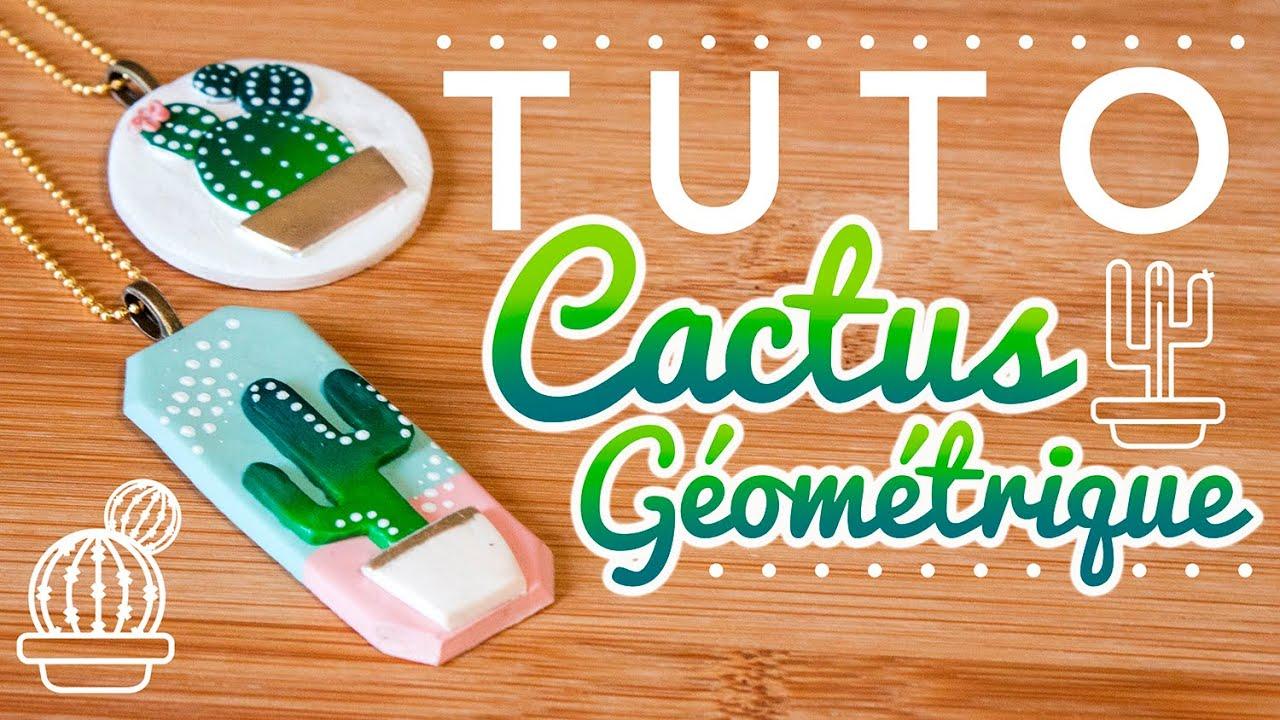 [TUTO] Cactus Graphique & Géométrique - FIMO - Polymer Clay