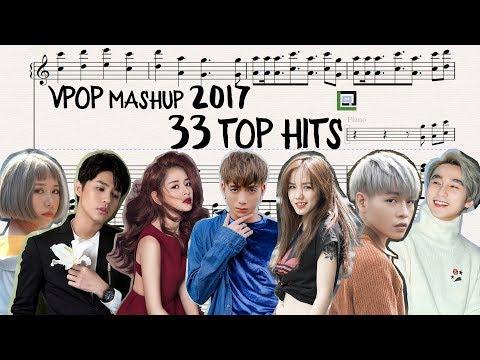 VPOP TOP HITS 2017: 33 Songs || LACrrangement Mashup