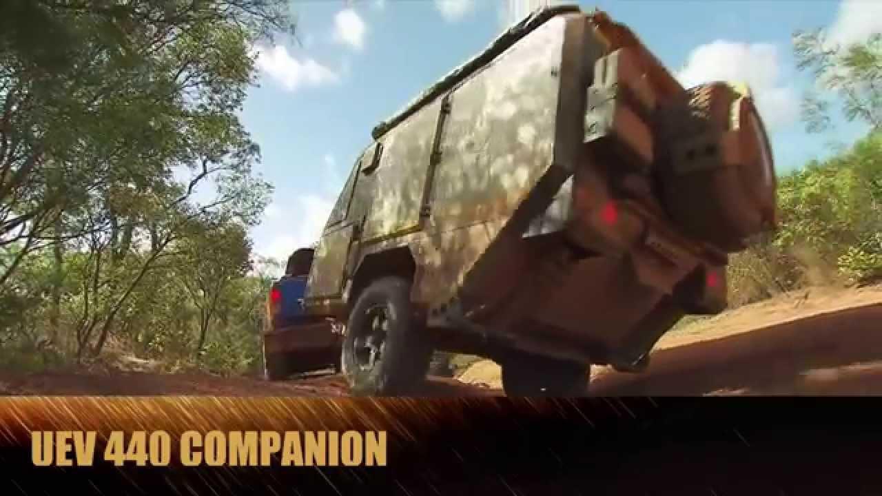 UEV 440 Conqueror Companion Off-Road Camper - YouTube