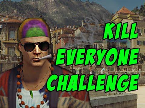 Sapienza Kill Everyone Challenge! - Hitman 2016