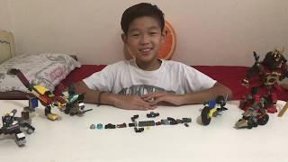 Como hacer moto futurista con lego with Caleb