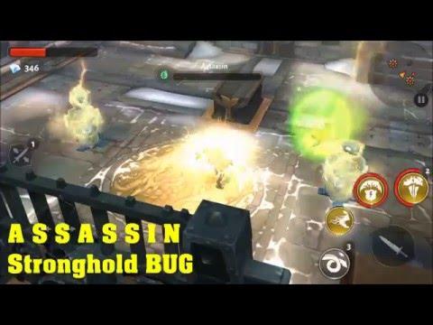 Dungeon Hunter 5 Assassin Stronghold BUG (Humprey @ HumpreyGuild)