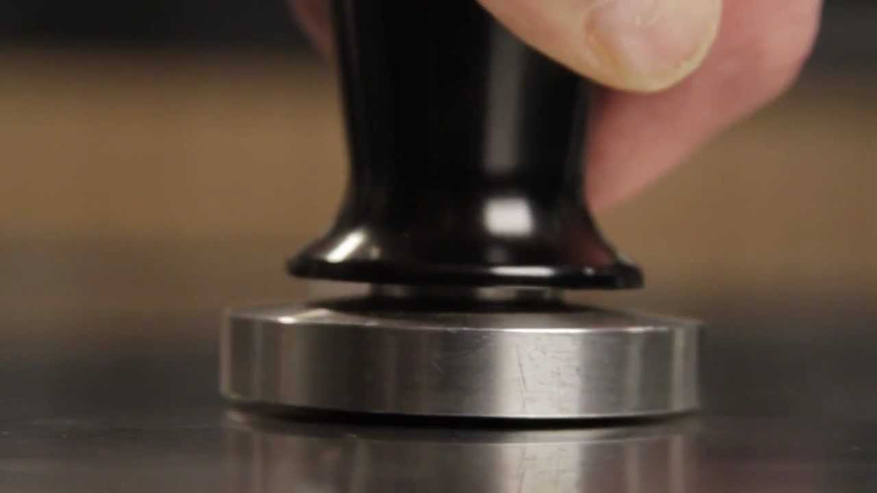 Espresso Coffee Tampers: Flat vs. Convex - YouTube