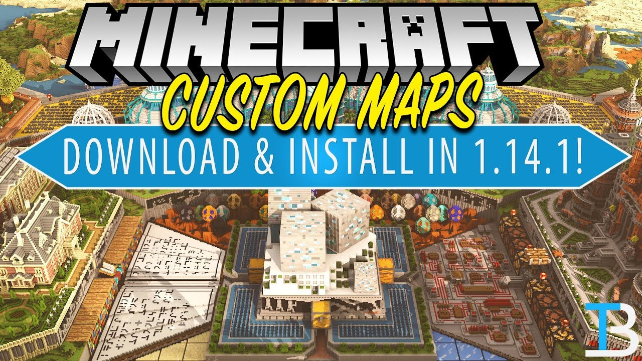 How To Download & Install Custom Maps in Minecraft 1 14 1