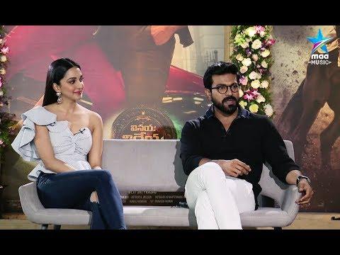 Ram Charan and Kiara Advani Special  about VinayaVidheyaRama