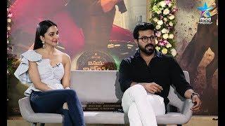 Ram Charan and Kiara Advani Special Interview about #VinayaVidheyaRama
