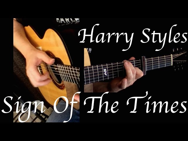 Harry Styles Sign Of The Times Fingerstyle Guitar Chords Chordify