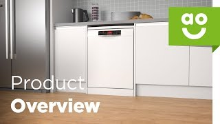 Bosch Dishwasher SMS67MW00G Product Overview | ao.com