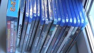 Розпакування 20 Blu ray дисків / Unboxing 20 Blu ray disks
