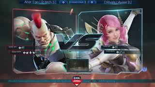 ESL Fighting Arena - Tekken 7 Grand Final: Alter Ego | Rtech VS DRivals | Ayase