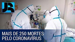Mais de 250 pessoas já morreram em decorrência do coronavírus na China