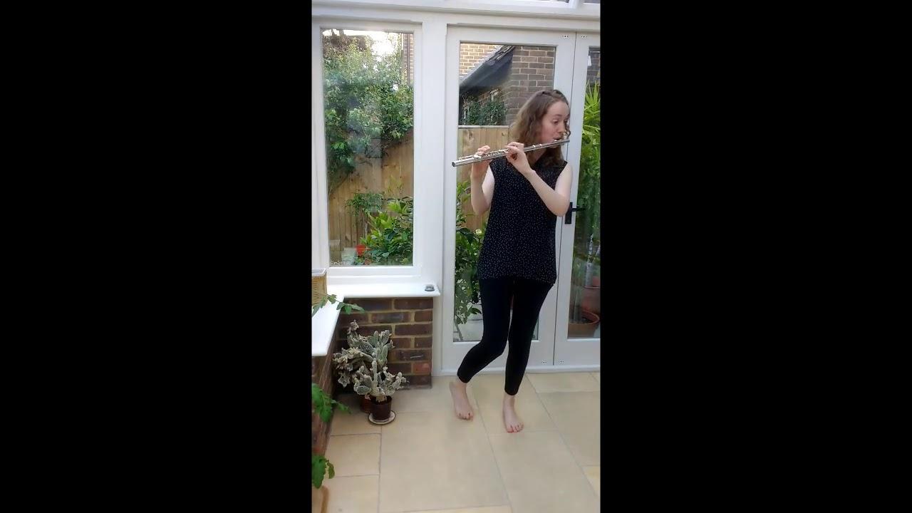 Bach Partita in A minor for solo flute - Rebecca Whiteman