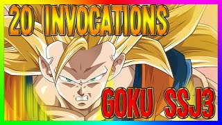 Dokkan Battle JAP | 20 Invocations GOKU SSJ3
