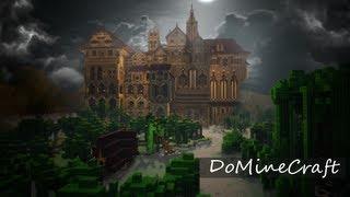 Огроменный замок в minecraft