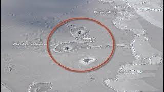 Baixar NASA reveals Mysterious 'Ice Circles' Formations near the North Pole