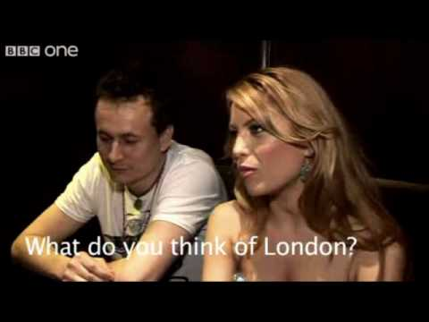 Romania's entry for Eurovision 2009 : Elena Gheorghe Interview for BBC @ Scala King's cross  London