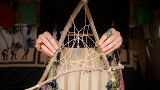 How to Make a Dream Catcher with Branches