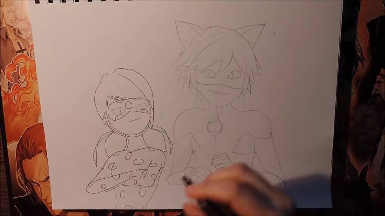 Mucize Uğur Böceği Ve Kara Kedi çizim Uğur Böceği Ve Kara Kedi