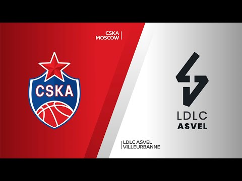 CSKA Moscow - LDLC ASVEL Villeurbanne Highlights | EuroLeague, RS Round 34
