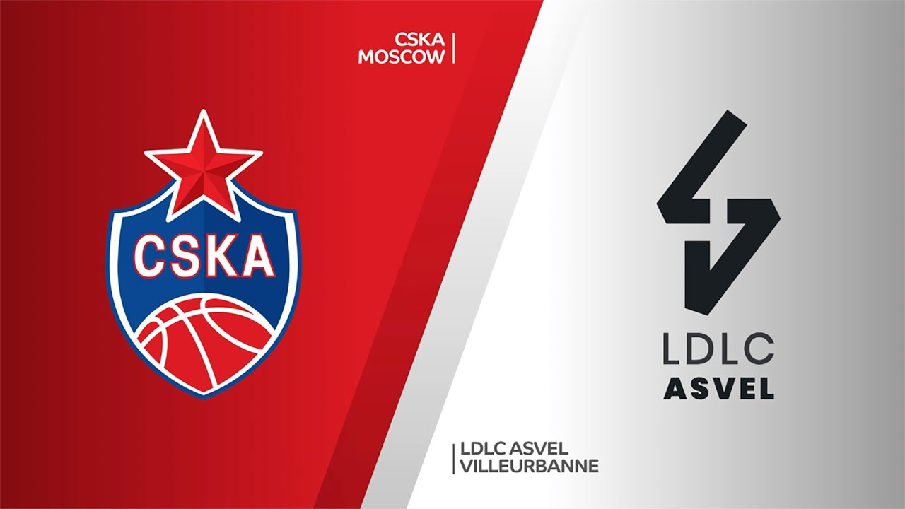CSKA Moscow - LDLC ASVEL Villeurbanne Highlights | EuroLeague, RS Round 34