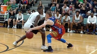 The Professor vs Real Hoopers... Damages Ankles & Egos